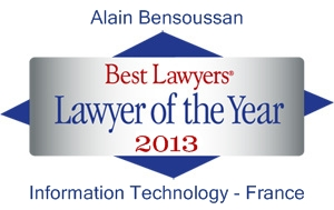Best Lawyers 2013 Alain Bensoussan Avocats