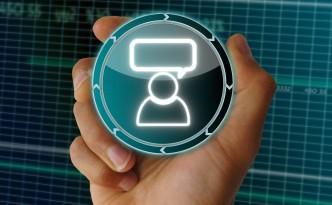 electronic data person symbol