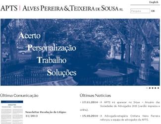 Site Alves Pereira et Teixeira de Sousa