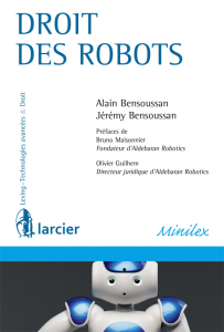 Couverture MiniLex Droit des robots Larcier 2015