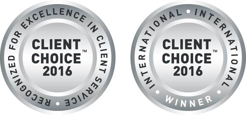 Client Choice Award 2016