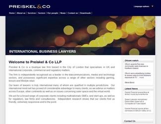 Site Preiskel & Co LLP
