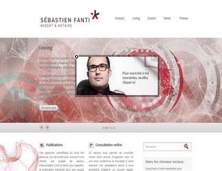 Site Sebastien Fanti
