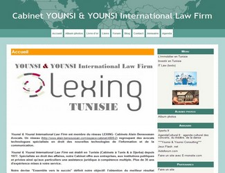 Site Younsi & Younsi International Law Firm