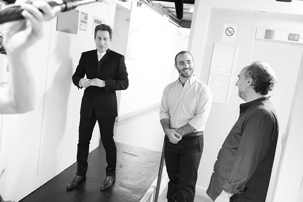 TEDxParis-Alain-Bensoussan back stage 1