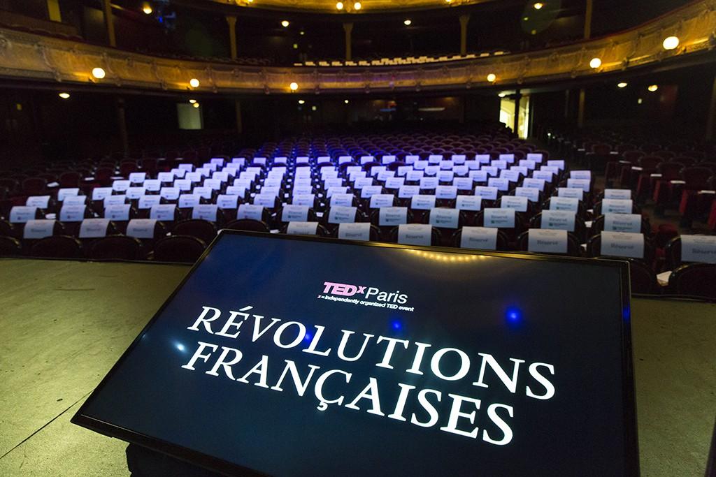 TEDxParis-Alain-Bensoussan scène vide