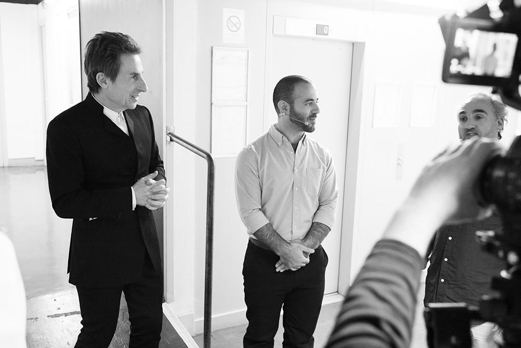 TEDxParis-Alain-Bensoussan back stage 4