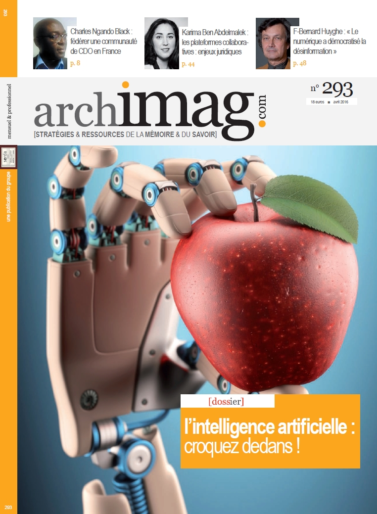 Personnalité robot : le point sur la question pour Archimag
