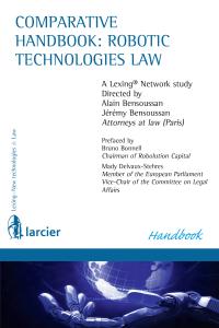 Couverture Comparative handbook robotic technologies law