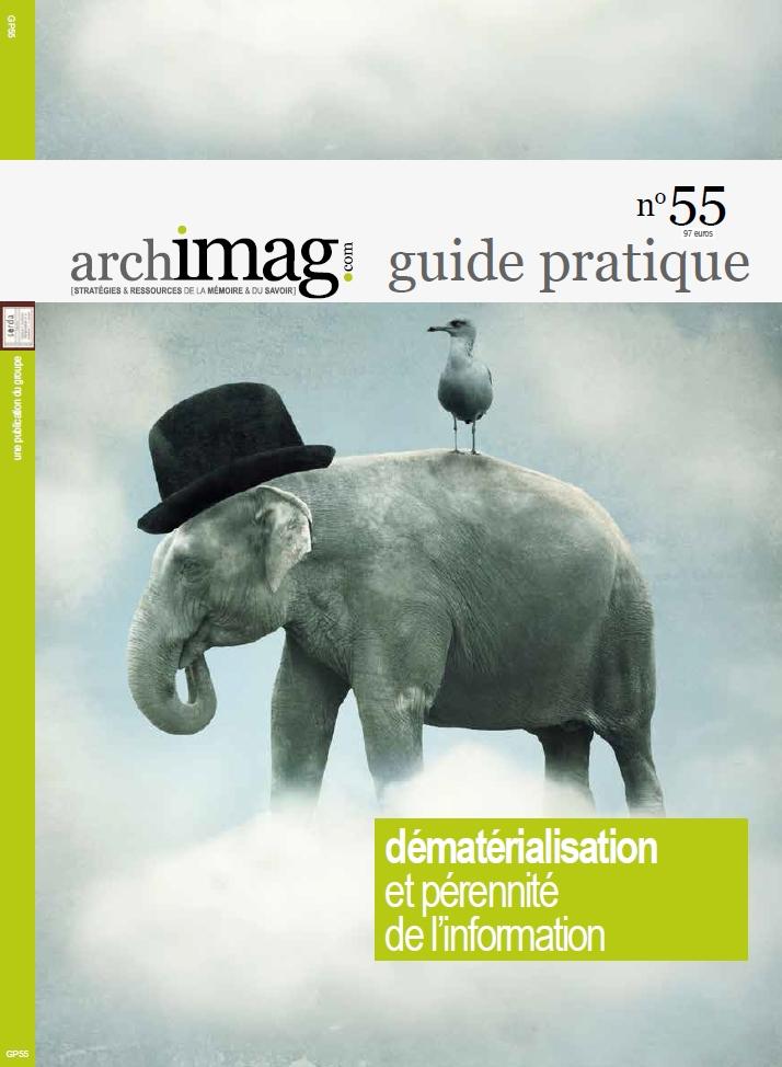 Couverture guide Archimag Dématérialisation information