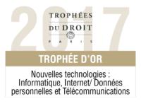 Trophée d'Or 2017 Nouvelles technologies : Informatique, Internet/Données personnelles et Télécommunications