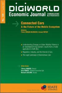 Idate : dossier spécial Voiture connectée et ecosystème mobile