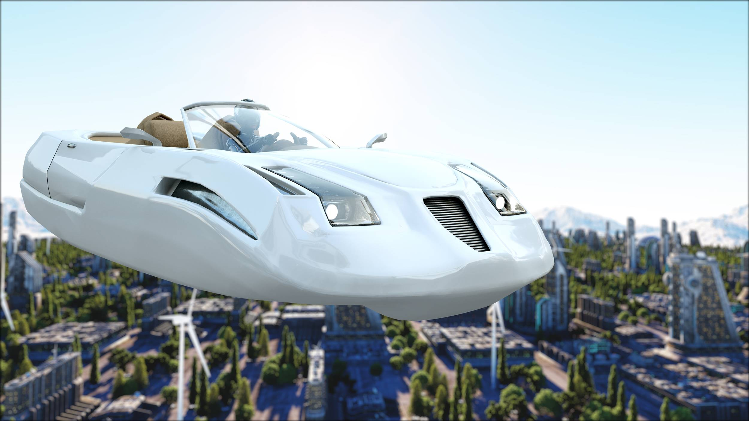 voitures volantes et autonomes