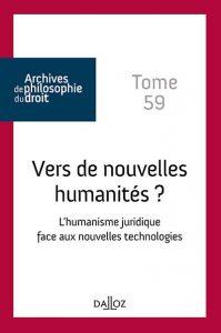 Droit de la robotique : vers de nouvelles humanités ?