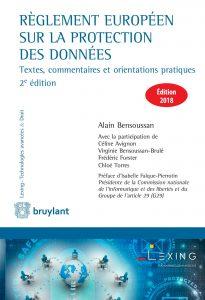 Règlement européen sur la protection des données, édition 2018