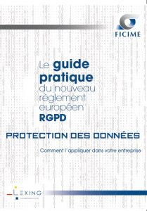 Guide FICIME RGPD