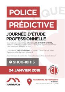 Police prédictive Programme