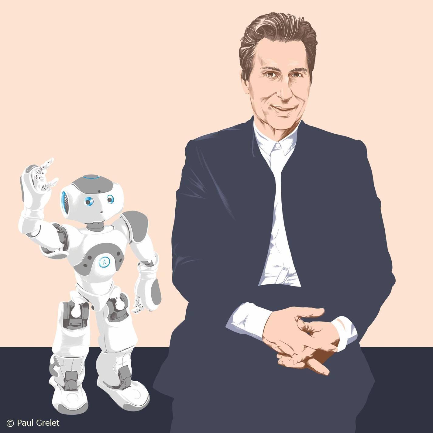 Peut-on tomber amoureux d' un robot