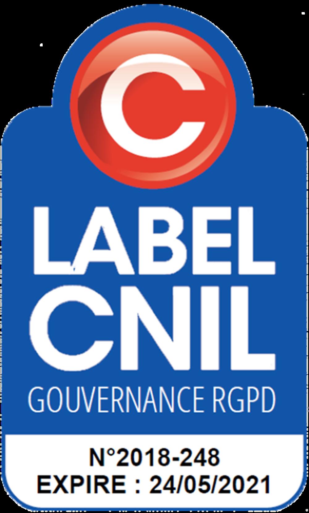 Label Cnil Gouvernance