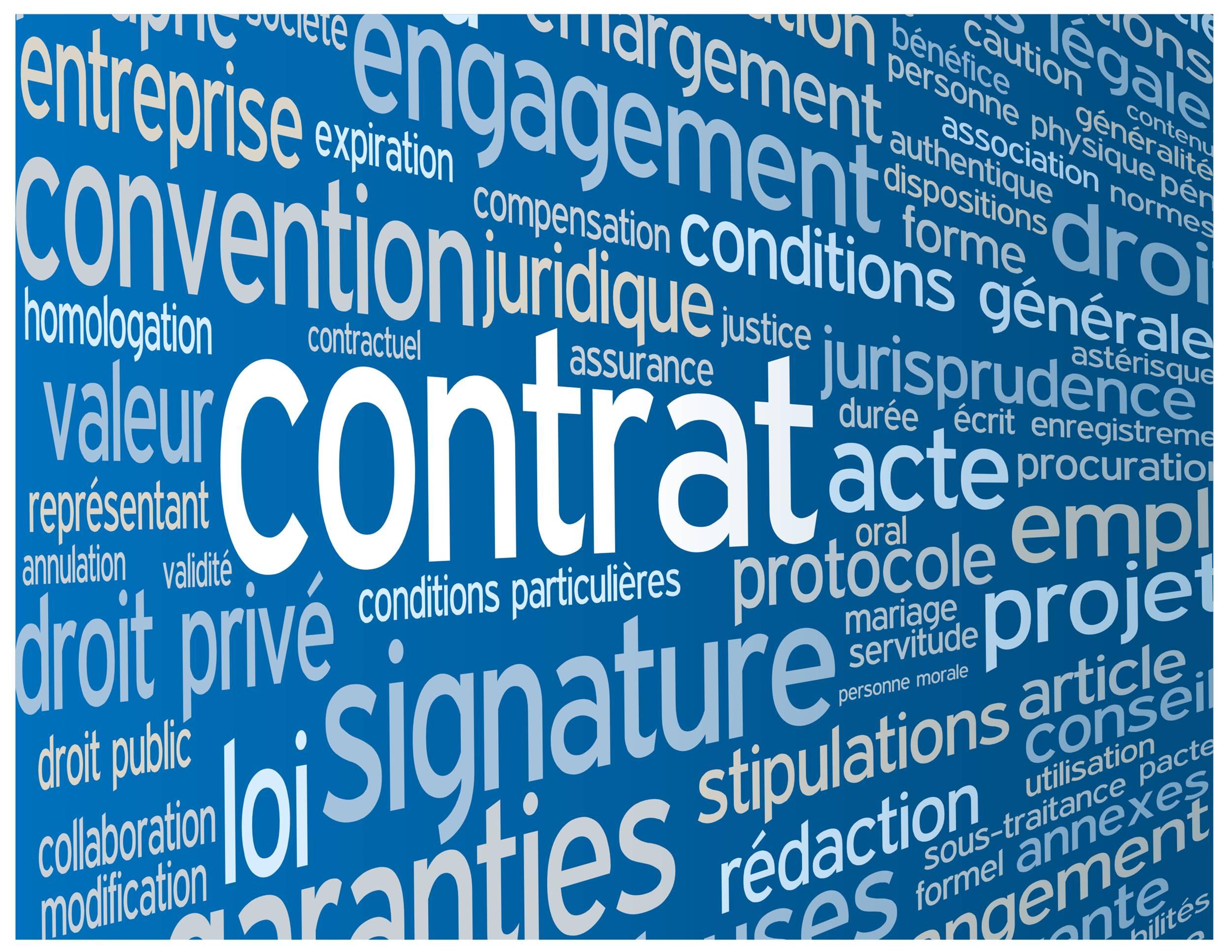 contrats à l'épreuve du RGPD
