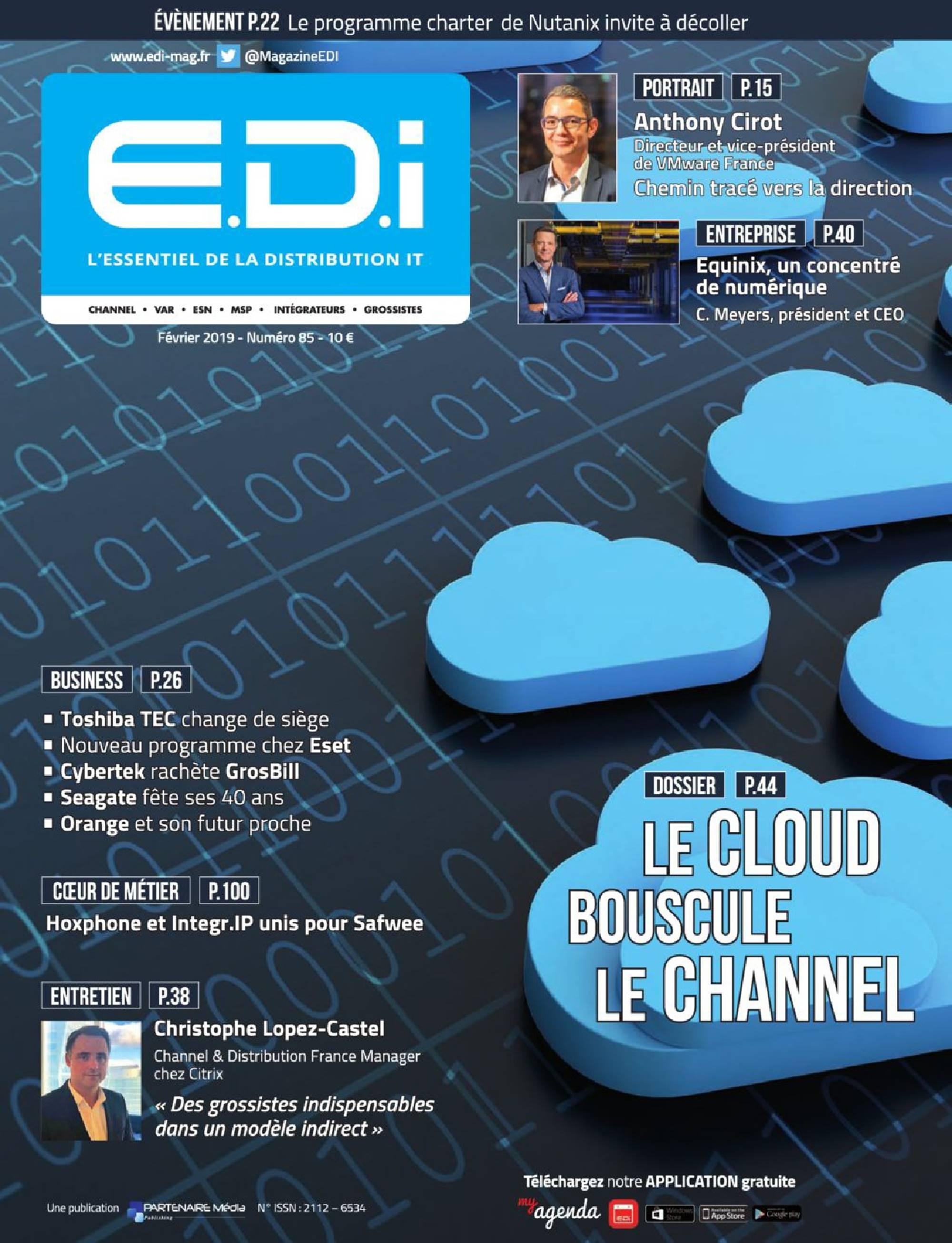 EDI 85 spécial Cloud computing