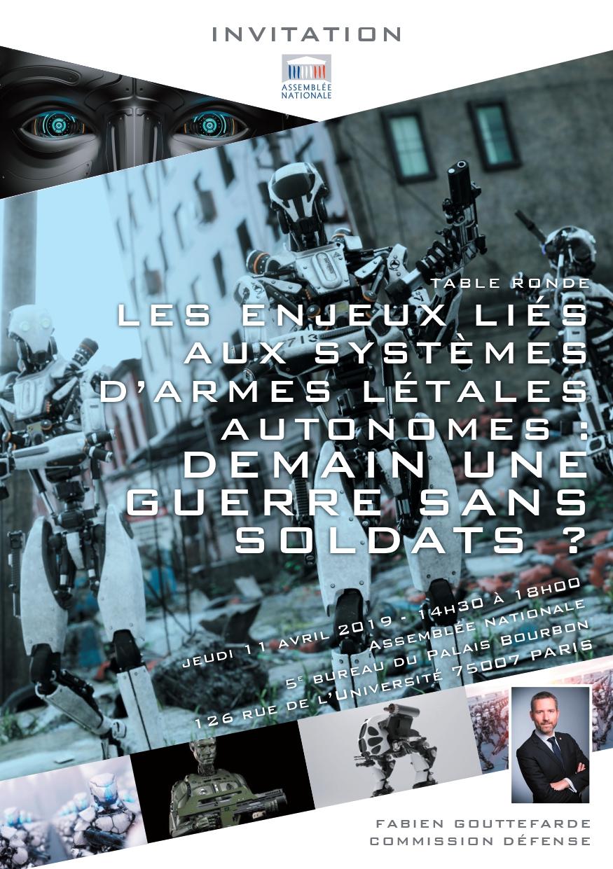 Systèmes d'armes létales autonomes