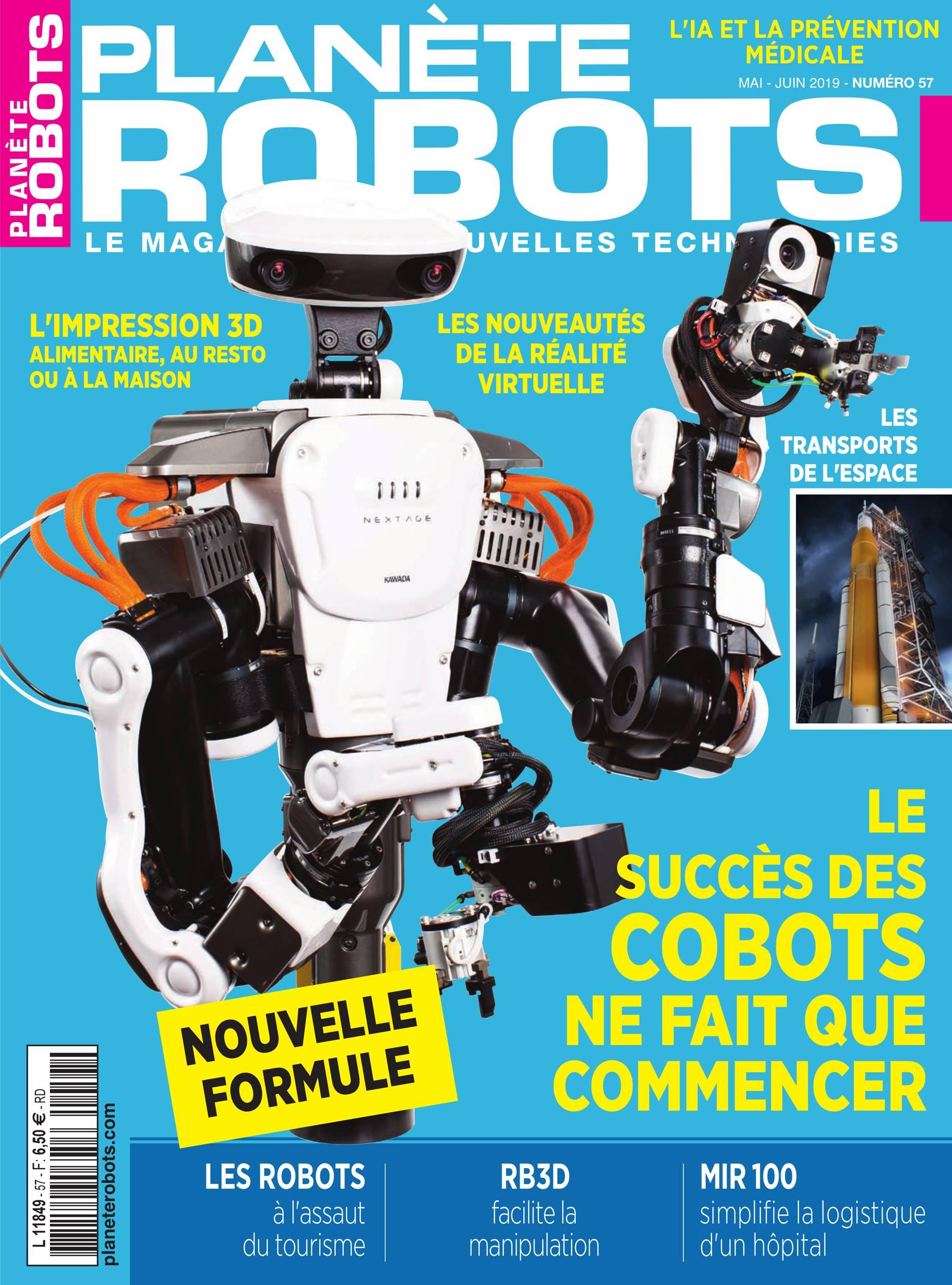 magazine Planète Robots