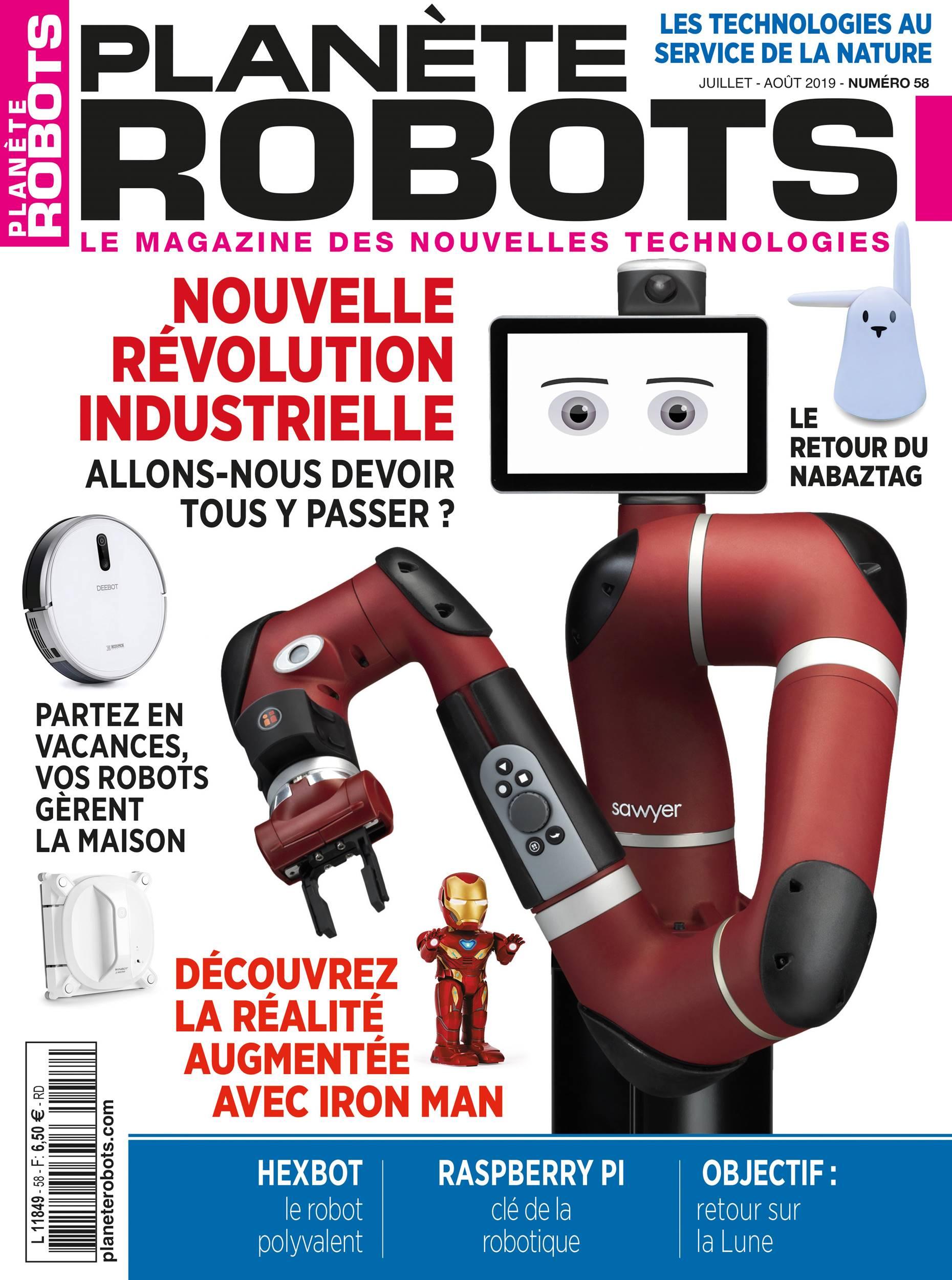 Planète Robots n°58
