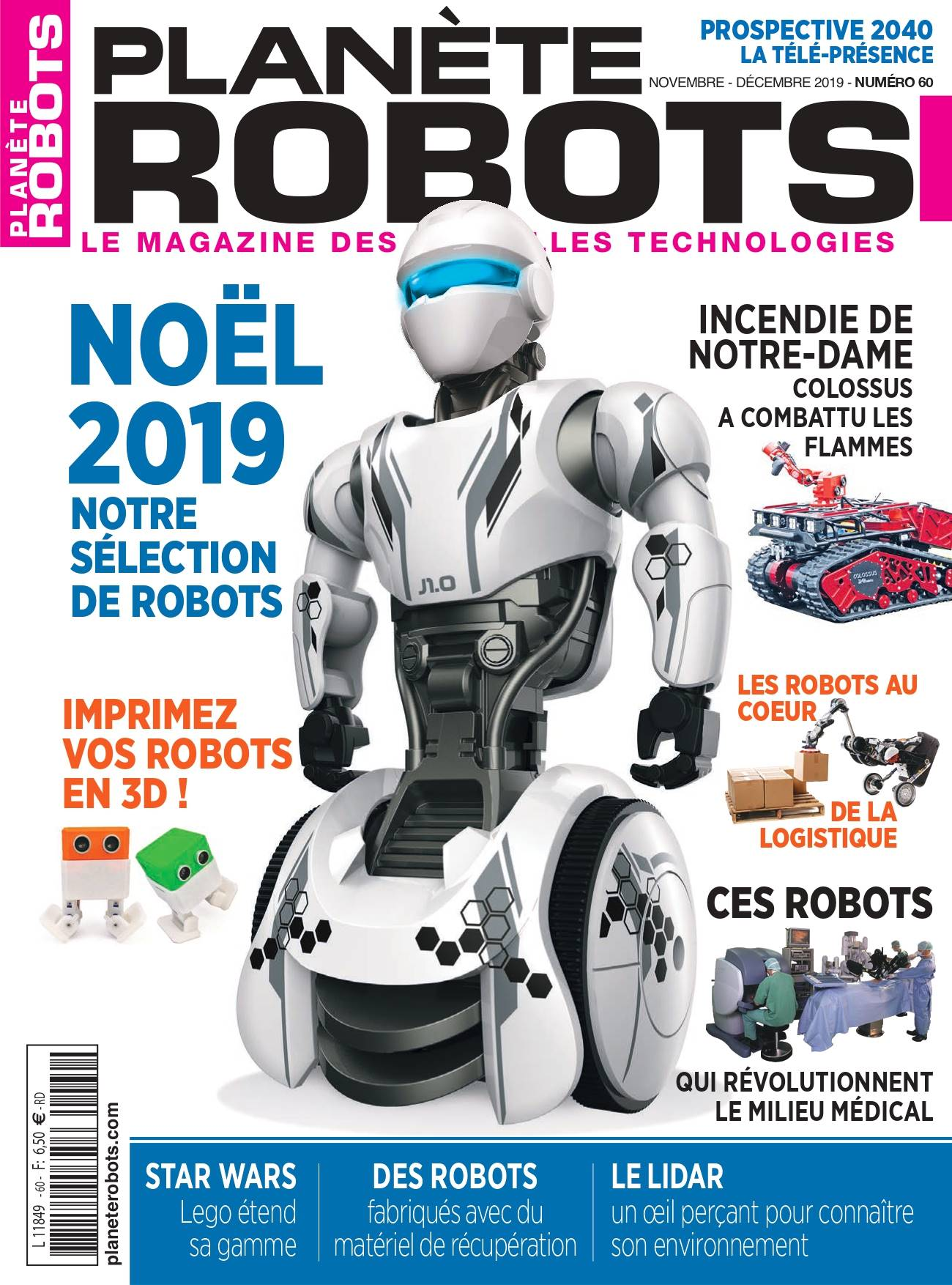 60 de planète robots