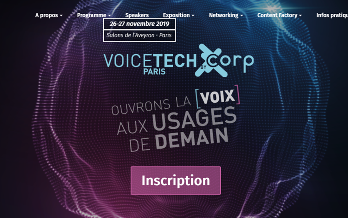 Voicetech Paris écosystème vocal