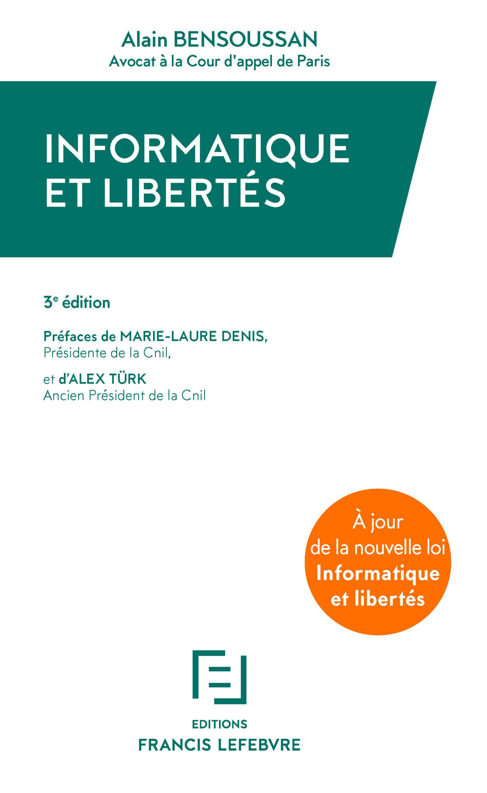 ouvrage Informatique et libertés