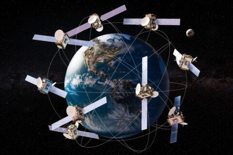 constellation de satellites