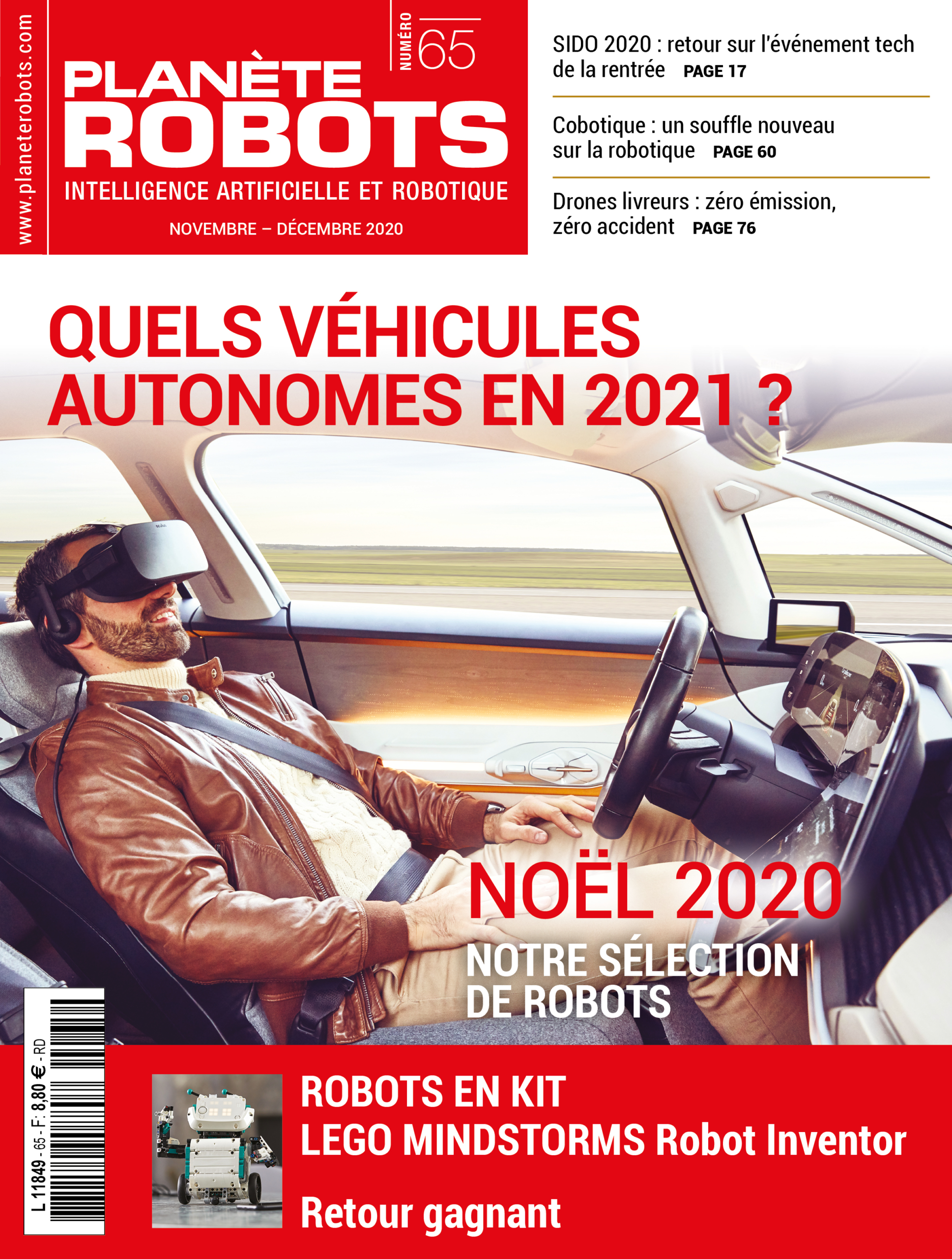 ALKS norme internationale sur les véhicules autonomes