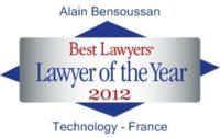 Best Lawers 2012  Alain Bensoussan
