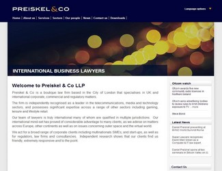 Site Preiskel & Co LLP